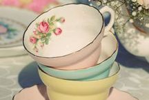 Two For Tea / My love for vintage teacups and saucers.