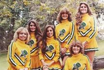 Three Cheers For the Cheerleader! / Rah Rah! A look back at the cheerleaders from days gone by.