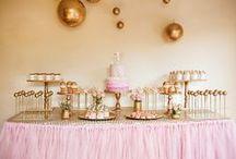 Elise's 5th Birthday / Fairy themed birthday party ideas.