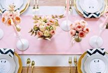 Elegant Tableau / Exquisite table ideas for a soiree or elegant dinner parties.