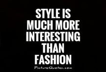 * Quotes about fashion *