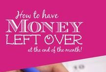 Saving Money Tips / Learn new ways to budget and save money. #CharityAuctionsToday
