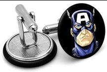 Superhero Cufflinks / Cufflinks