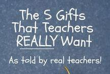 Teacher Appreciation Ideas / Gift ideas for teachers. #TeacherAppreciation