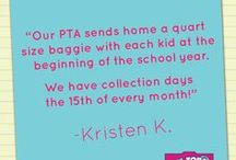 PTO PTA Ideas / Marketing, Fundraising, and Event Ideas for School PTO PTA leaders.
