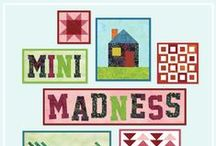 "Mini Madness / Mini quilts made during ""Mini Madness"" with the Island Batik Ambassadors! #minimadnessib"