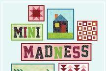 """Mini Madness / Mini quilts made during """"Mini Madness"""" with the Island Batik Ambassadors! #minimadnessib"""