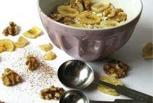 gesundes Frühstück / Gesund und Fit in den Tag starten. Overnight Oats, Haferflocken, Müsli, Obst, gesundes Frühstück