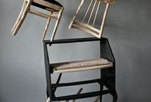 Karen Ryan / Un'altra artista che lavora con le sedie, ridandogli non solo una nuova vita ma rendendole dei soggetti.