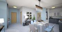 Családi ház bővítés / Egy nagyon kedves család otthonának bővítéséhez készült látvány tervek. Három variáció, három hangulat... (Budapest)