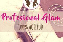 Profesional Glam / Todo sobre el manejo de público, expresión oral, redacción de informes, plantillas ahorra tiempo y mucho más para facilitar tu trabajo diario.