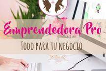 Emprendedora Pro / Todo sobre la imagen de tu emprendimiento, asesorías paso a paso y herramientas que harán de tu negocio un éxito comunicacional.