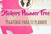 Stickers Planner Free / Pegatinas gratis para tu planner