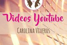 Videos Youtube CarolinaViveros.com / Todos los videos que encuentras en Youtube sobre comunicación, universitaria chic, emprendedora pro y profesional glam con lyfestylerosa