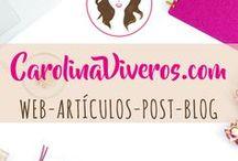Artículos CarolinaViveros.com / Los artículos que voy subiendo a CarolinaViveros.com los puedes encontrar más rápido aquí, si es que andas navegando por Pinterest.  Todo enfocado a las comunicaciones de Universitaria Chic, Profesional Glam y Emprendedora Pro con LifestyleRosa !!