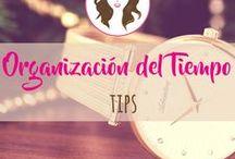 Tips de Organización del Tiempo / Tips de Organización del Tiempo, un recurso tan escaso que es mejor organizar!!
