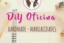 DIY Oficina / Todo lo más bonito para hacer manualidades lo más glam para tu oficina o espacio de trabajo chic :)