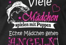 FISCHER Sprüche - T Shirt Design