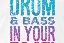 Drum N Bass - DnB T Shirts