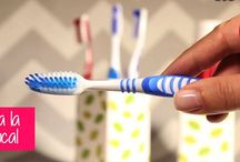 Desinfecta tu cepillo de dientes / Una muy sana costumbre que pocas personas acostumbran hacer es desinfectar periódicamente los cepillos de dientes. Puedes sumergirlos en alcohol, en agua oxigenada o en agua hirviendo, cualquiera de estas formas eliminará los gérmenes y dejará el cepillo perfectamente limpio. https://youtu.be/Fpd2kxHTQmM