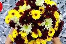 Flores frescas / Las flores en el hogar siempre proporcionan belleza, frescura y crean  un ambiente agradable y positivo. Sin embargo, cuando son flores  frescas, generalmente no duran mucho tiempo. Para alargar la vida  de las flores procura cambiarles frecuentemente el agua añadiéndole  un poco de azúcar y un chorrito de vinagre de manzana. Ven a  Comercial Mexicana y Mega donde encontrarás bellos ramos de  flores frescas así como todo para lucir un hogar hermoso a precios  increíblemente bajos.