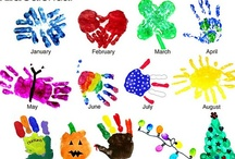 hand print/foot print projects...