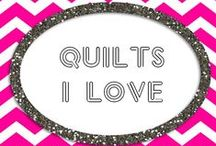 Quilts I <3 / Quilts and quilt designs worth trying / by Heather Sorrells