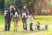 Family portraits / Cute ideas to capture those ever so precious moments / by Erin Dettman