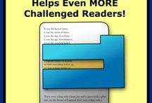 Help for Struggling Readers / Resources, Links, and Activities for Challenged Readers