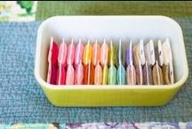 Thread Storage / Creative ways to store and organize your thread.