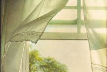 DIY - Curtains and Window Coverings / This board is all about curtain inspiration AND sewing tutorials.  If my pin is a tutorial, I certainly try to state that on the pin.
