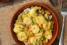 Seafood: what could be better? / Shrimp, lobster, tilapia, cod - we love all kinds of seafood recipes! / by Sunday Supper