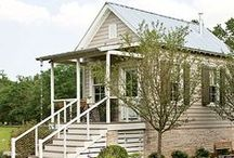 Guest Houses | Home Offices / See also Tiny Houses | Little Houses and Gardening Sheds for more inspiration!