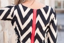 Zipper Inspiration / Exposed zippers are a hot fashion trend!