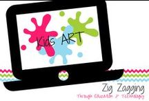 Kids Art / Real ART projects for students and classrooms.