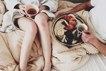 Hygge / Hygge ['hoo-ga'] (Danish) –  cosiness; a deep sense of place & well-being; a feeling of friendship, warmth, contentment and peace with your immediate surroundings. / by Svanhvit