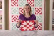 QUILT Tutorials and Patterns! / I used to have a board of quilt and block tutorial; I separated it into two boards.  Check them both out! / by Robbie P