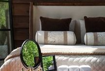 Bedroom / Cozy and chic bedding items with a rustic twist at High Camp Home.  / by High Camp Home (HCH)