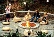 Fire pits for the garden