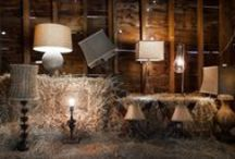 Lighting / Shed light on the rustic space with our spectacular chandeliers, pendants, sconces and lamps. / by High Camp Home (HCH)