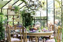 Solariums, Conservatories & Greenhouses / by Paula Bell Abbott