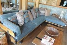Sofas / Rustic and sophisticated sofas for any home.  / by High Camp Home (HCH)