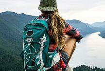 Wanderlust for the Adventurous Soul / Hiking, climbing, trail walking, rewinding yourself