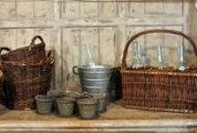 Baskets & Buckets / by High Camp Home (HCH)