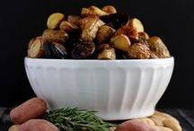 Potato Recipes Featuring Famous Idaho® Potatoes / The Sunday Supper Family is sharing their favorite potato recipes made with Famous Idaho® potatoes. Best potato salads, easy appetizers, and fabulous side dishes.  You will want to save these to make again and again for get-togethers and family dinners.