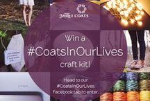 #CoatsInOurLives / Did you know? 1 in 5 garments on the planet are held together using Coats thread! It's astonishing but Coats products are used in thousands of different products all over the world in a vast variety of ways.  To celebrate we're giving you the chance to win a special #CoatsInOurLives craft kit!  Simply browse this board and and the answer the questions on our Facebook competition tab: https://a.pgtb.me/JNp027