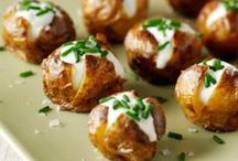 Potatoes / Potato recipes including sweet potatoes and chips / by Kylie Davies