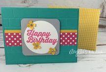 Birthday cards: Angela's Ink Link