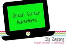 Green Screen Adventures / App-tivities and projects with green screens.