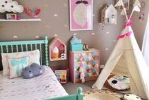 Kids Decor / Fun and practical spaces for the little people in your life.